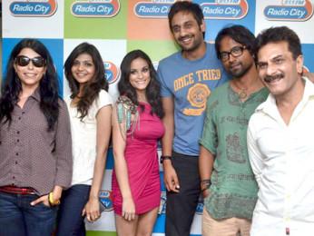 Photo Of Shilpa Shukla,Shweta Verma,Caterina Lopez,Prashant Narayanan,Pawan Malhotra From The Audio release of 'Bhindi Baazaar Inc' at Radio City 91.1 FM