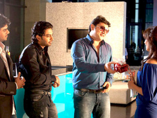 Movie Still From The Film Men Will Be Men,Gaurav Chopra