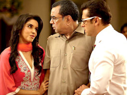 Movie Still From The Film Ready,Asin,Paresh Rawal,Salman Khan