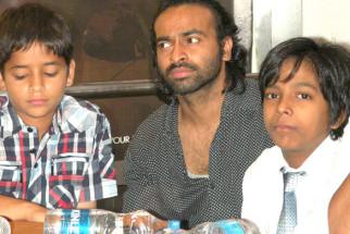 Photo Of Husaan Saad,Pitobash Tripathy,Harsh Mayar From The Gulshan at special screening of 'I Am Kalam'