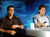 Photo Of Hrithik Roshan,Preity Zinta From The Photo Call For Lakshya