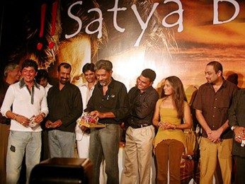 Photo Of Aadesh Shrivastava,Prakash Jha,Sayaji Shinde,Tina Parekh,Sachin Khedekar From The Audio Launch Of Satya Bol