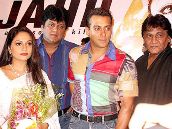 Photo Of Gracy Singh,Salman Khan From The Audio Launch Of Wajahh