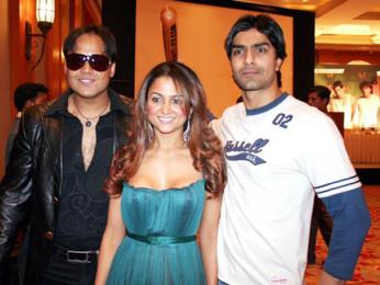 Photo Of Yash Tonk,Amrita Arora,Ashmit Patel From The Audio Release Of Fight Club