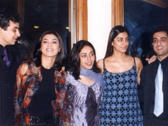 Photo Of Palash Sen,Sushmita Sen,Meghna Gulzar,Tabu,Sanjay Suri From The Audio Release Of Filhaal