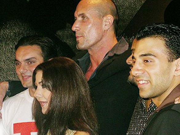 Photo Of Sohail Khan,Heena Tasleem,Tim Lawrence,Imran Ali Khan From The Audio Release Of 'I - Proud To Be An Indian'