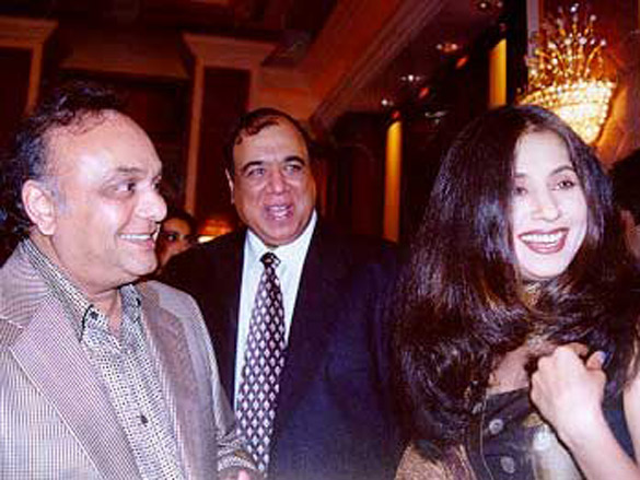Photo Of Bharat Shah,Urmila From The Audio Release Of Jungle