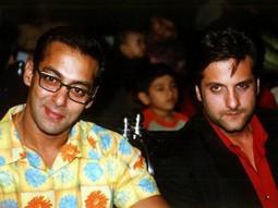 Photo Of Salman Khan,Fardeen Khan From The Audio Release Of Kitne Door Kitne Paas