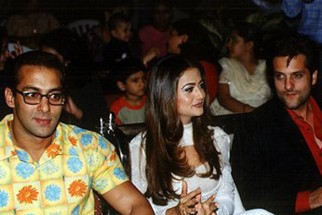 Photo Of Salman Khan,Amrita Arora,Fardeen Khan From The Audio Release Of Kitne Door Kitne Paas