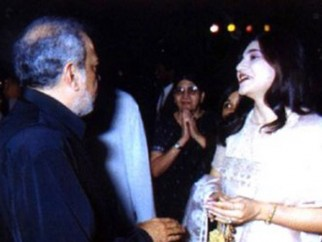 Photo Of J.P Dutta,Alka Yagnik From The Audio Release Of Refugee