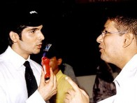 Photo Of Zayed Khan,Taran Adarsh From The Launch Of Vaada