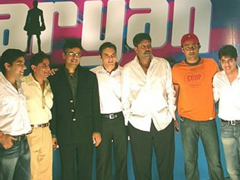Photo Of Anand Raj Anand,Sohail Khan,Kapil Dev,Harry Anand From The Mahurat Of Aryan