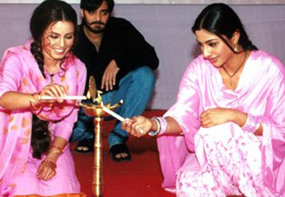 Photo Of Mahima,Chandrachur,Tabu From The Mahurat Of Sarhad Paar