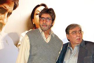 Photo Of Amitabh Bachchan,Prakash Mehra From The Mahurat Of Viruddh