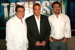 Photo Of Nitin Manmohan,Sanjay Dutt,Anubhav Sinha From The Audio Release Of Tathastu