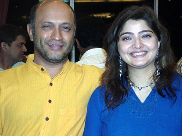 Photo Of Yatin Karyekar,Vasundhara Das From The Eik Dasttak Movie Completion Party