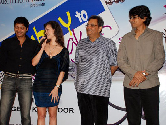 Photo Of Shreyas Talpade,Lina Christianson,Subhash Ghai,Nagesh Kuknoor From The Launch Of Bombay To Bangkok