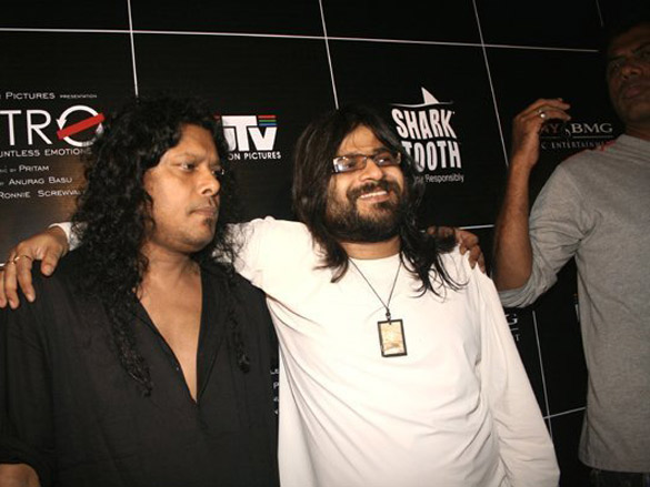 Photo Of James,Pritam Chakraborty From The Audio Release Of Life In A Metro And Kangna Ranaut's Birthday Celebration