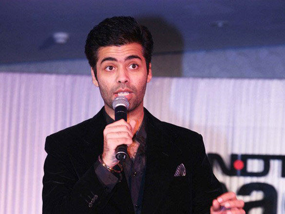Karan Johar At Say Shaava Shaava Press Conference