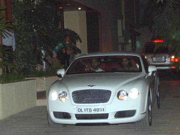 Photo Of Wes Bentley,Abhishek Bachchan From The Amitabh Gifts Abhishek A Bentley