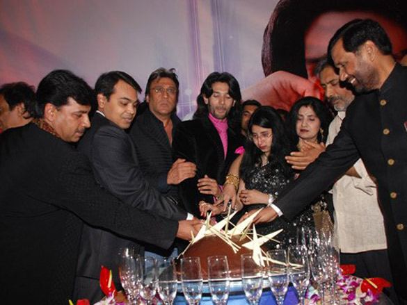 Anuj Saxena Introduces Chirag Paswan,Son Of Ramvilas Paswan,Also Celebration Party Of Chirag's Birthday