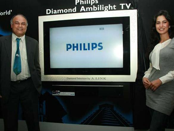 Katrina Kaif Launches Philips Diamond Ambilight TV