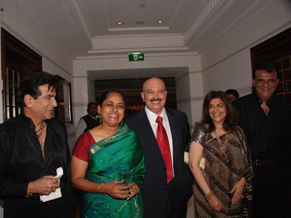 Photo Of Jetendra,Rakesh Roshan From The Raj Babbar's Daughter Juhi Marries Bijoy Nambiar