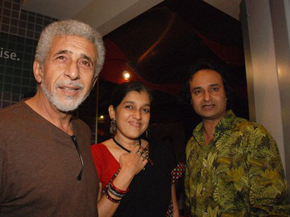 Photo Of Naseruddin Shah,Ratna Pathak,Jameel Khan From The Premiere Of Loins Of Punjab Presents
