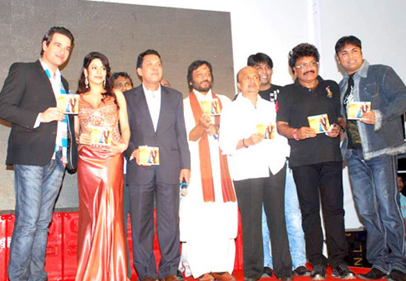 Photo Of Mikaal Zulfikaar,Priti Soni,Aron Govil,Roop Kumar Rathod,Sameer,Darshan,Shravan Kumar,Sanjeev From The Audio release of 'U R My Jaan'