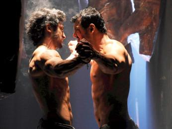 Movie Still From The Film Force,Vidyut Jamwal,John Abraham