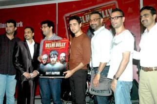 Photo Of Jim Furgele,Kunal Roy Kapoor,Imran Khan,Abhinay Deo,Akshat Verma From The DVD launch of 'Delhi Belly'