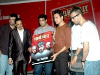 Photo Of Kunal Roy Kapoor,Imran Khan,Akshat Verma From The DVD launch of 'Delhi Belly'