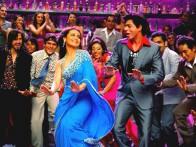Movie Still From The Film Om Shanti Om,Rani Mukherji,Shahrukh Khan