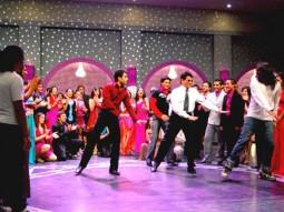 Movie Still From The Film Om Shanti Om,Tusshar Kapoor,Jeetendra