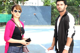 Movie Still From The Film Miley Naa Miley Hum,Kangna Ranaut,Chirag Paswan