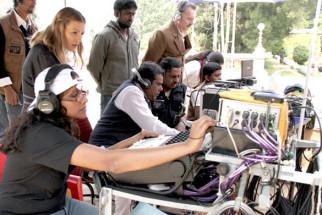 On The Sets Of The Film Dam 999 Featuring Aashish Vidyarthi,Linda Arsenio,Rajit Kapoor,Harry Key,Joshua Fredric Smith,Vinay Rai,Vimala Raman,Megha Burman,Jaala Pickering,Jineet Rath