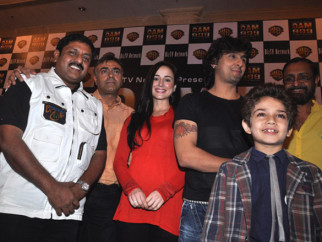 Photo Of Sohan Roy,Rajit Kapoor,Linda Arsenio,Sonu Nigam From The Sohan Roy presents Sonu Nigam the screenplay of 'Dam 999'