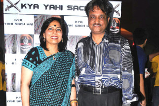 Photo Of Abha Singh,Y.P. Singh From The Y.P. Singh and Abha Singh walked the ramp