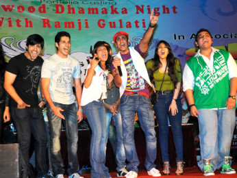 Photo Of Maryam Zakaria,Karanvir Sharma,Bhaumik Sampat,Shaurya Chauhan,Rohin Robert,Kahkkashan Aryan,Rohit Arora,Tarun R Agarwal From The 'Sadda Adda' starcast at Rithumbara to promote their film on Chrismas eve