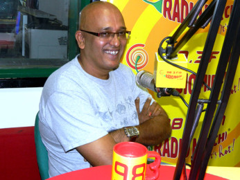 Photo Of Hriday Shetty From The Team of 'Chaalis Chauraasi' at 98.3 FM Radio Mirchi
