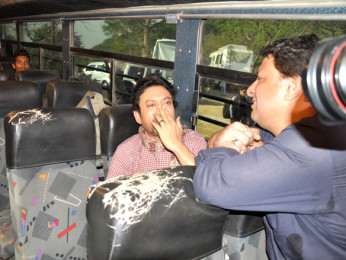 On The Sets Of The Film Pranam Walekum Featuring Irrfan Khan,Tigmanshu Dhulia