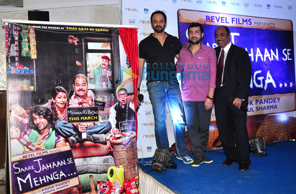 Rohit Shetty unveils the first look of 'Saare Jahaan Se Mehnga'