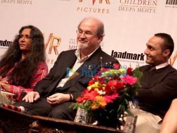 Deepa Mehta, Salman Rushdie, Rahul Bose