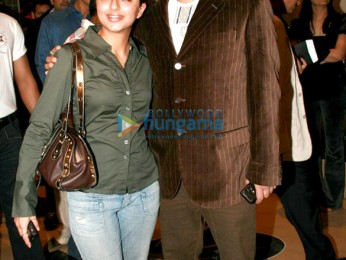 Photo Of Bhumika Chawla,Bharat Thakur From The Premiere Of My Name Is Anthony Gonsalves
