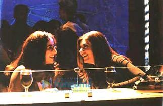 Movie Still From The Film Paisa Vasool Featuring Manisha Koirala,Sushmita Sen