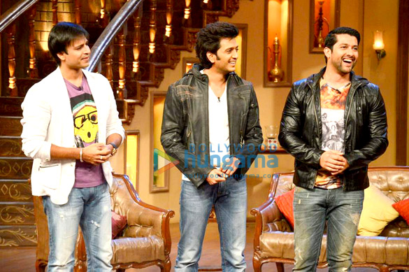 Vivek, Ritesh & Aftab at Comedy Night with Kapil