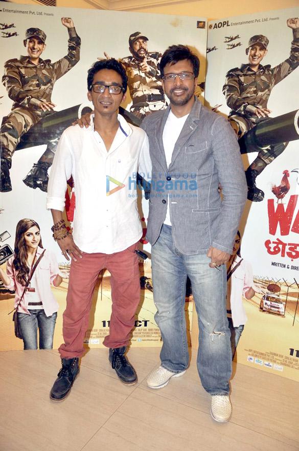 Soha & Sharman promote 'War Chhod Na Yaar'