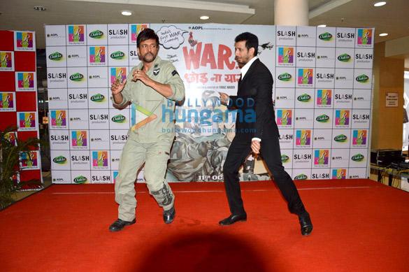 Sharman & Jaaved promote 'War Chhod Na Yaar' at Rcity Mall