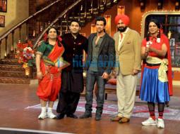 Kiku Sharda, Kapil Sharma, Hrithik Roshan, Navjot Singh Sidhu, Sunil Grover