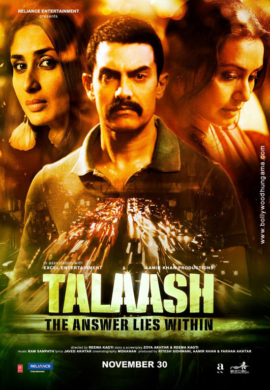 Talaash Cover